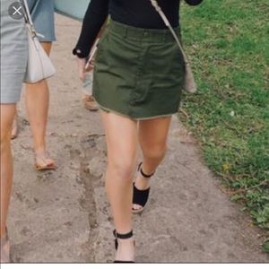 Urban outfitters VINTAGE utility skirt